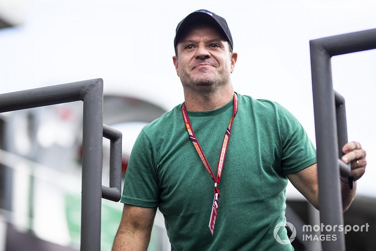 Az egyetlen alkalom, amikor Barrichello kikelt magából, és megütött valakit