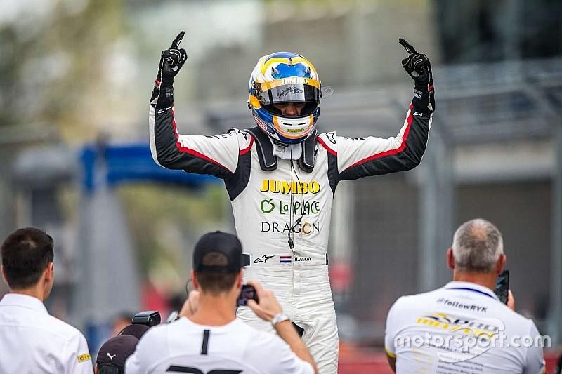 Van Kalmthout begint met twee zeges aan F3 Asia Winter Series