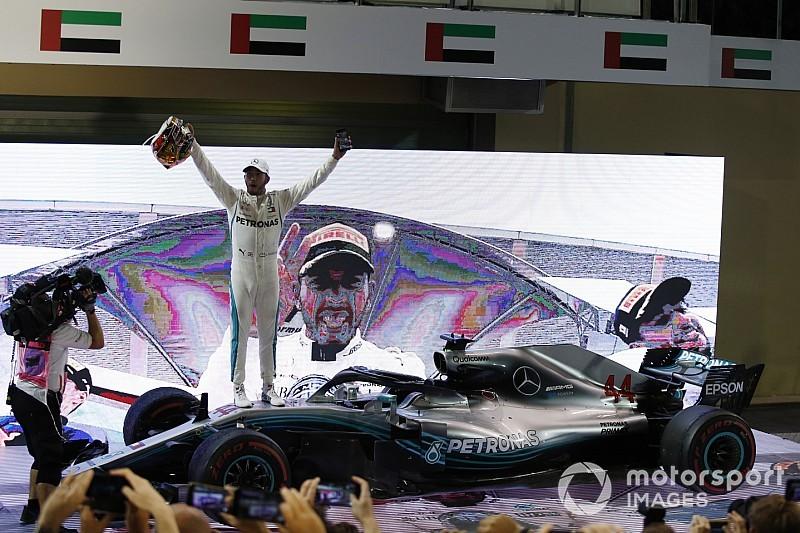 Hamilton projeta disputa com Vettel e Bottas por título em 2019