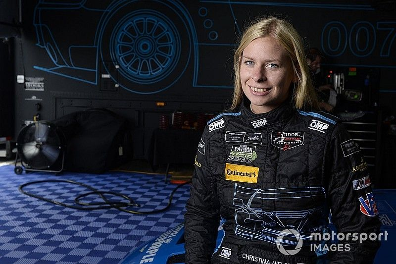 Nielsen added to all-female MSR Rolex 24 lineup