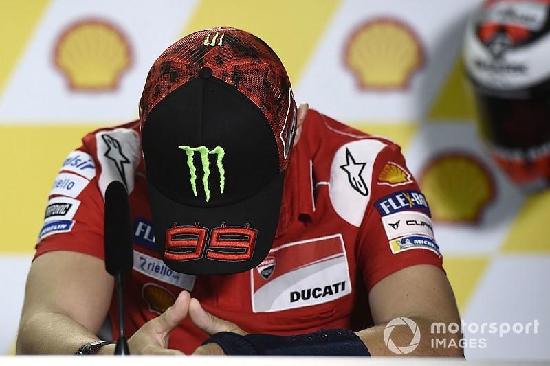 Lorenzo renonce au GP de Malaisie