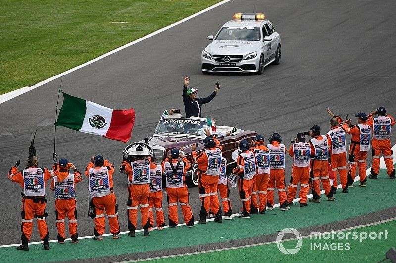 Pérez teme que México pueda perder su carrera de F1 para siempre