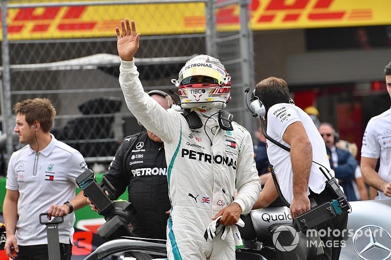 """Hamilton, le cinquième titre malgré une """"course horrible"""""""