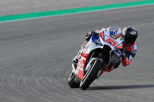 """Moto2-Champion Francesco Bagnaia schnellster Rookie """"am ersten Schultag"""""""