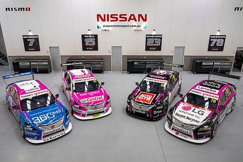 Nissan turns pink for Supercars farewell