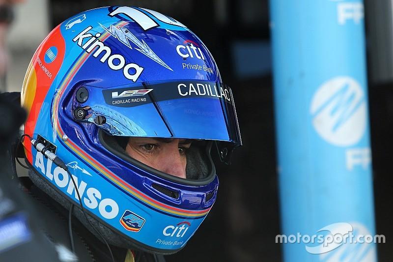 Vídeo: Alonso ya forma parte del show de Jordan Taylor