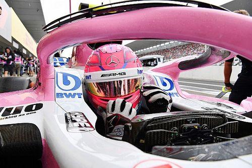 Ocon é punido e perde três posições no grid no Japão