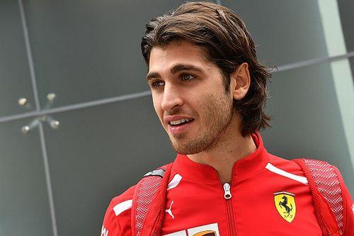 ¿Quién es el piloto reserva de Ferrari?