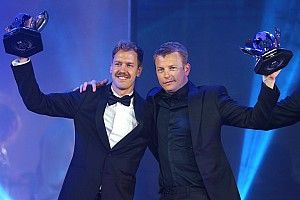 Raikkonen stars at FIA Awards, as Hamilton is crowned
