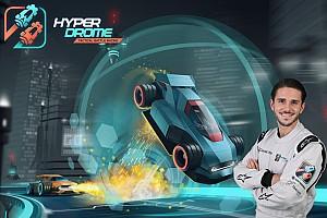 Daniel Abt se une al equipo Hyperdrome para el juego de carreras del futuro