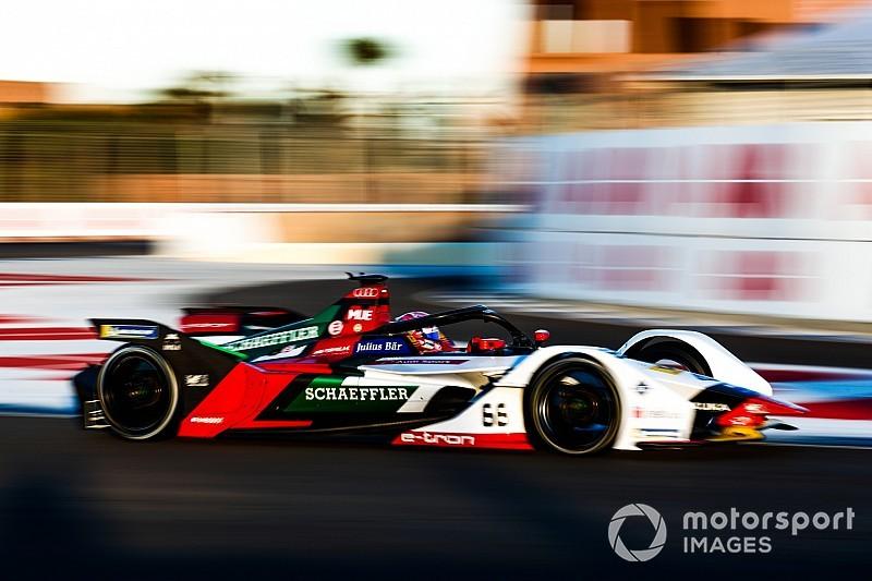 Nico Muller e l'Audi dominano i test della Formula E a Marrakesh