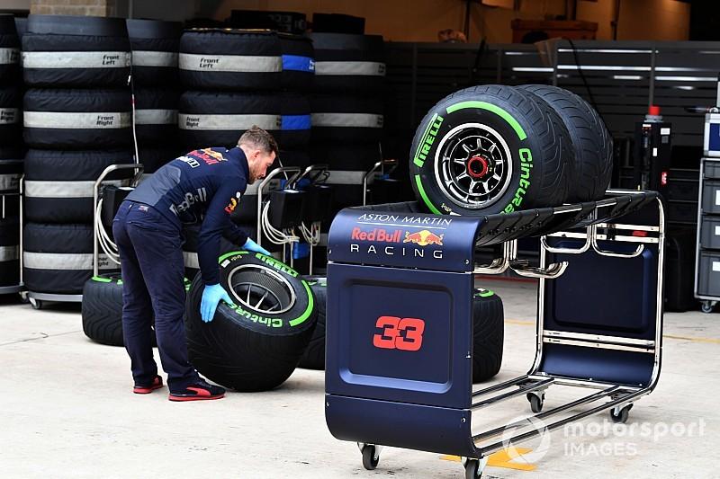 F1 denkt na over verbod op bandentests in vrijdagtrainingen