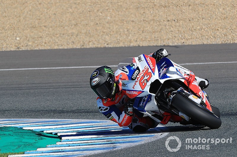 Bagnaia eyes rookie honours after strong Jerez test