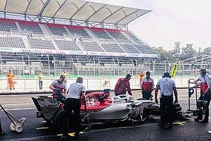 Test Pirelli: Giovinazzi con le gomme 2019 sulla Sauber a Città del Messico