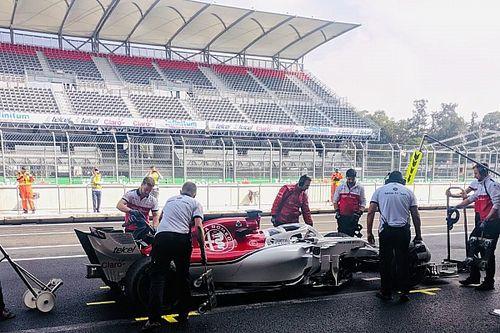 99 kört tesztelt Mexikóban Räikkönen új csapattársa a Sauberrel