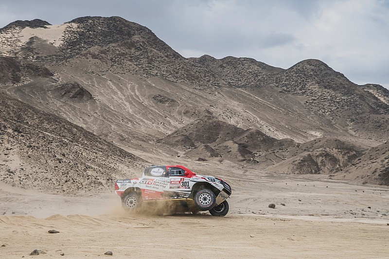 Al-Attiyah confirms Alonso wants Dakar Toyota test