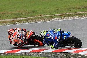 """Iannone: """"Si no llego a frenar habría chocado con Márquez"""""""