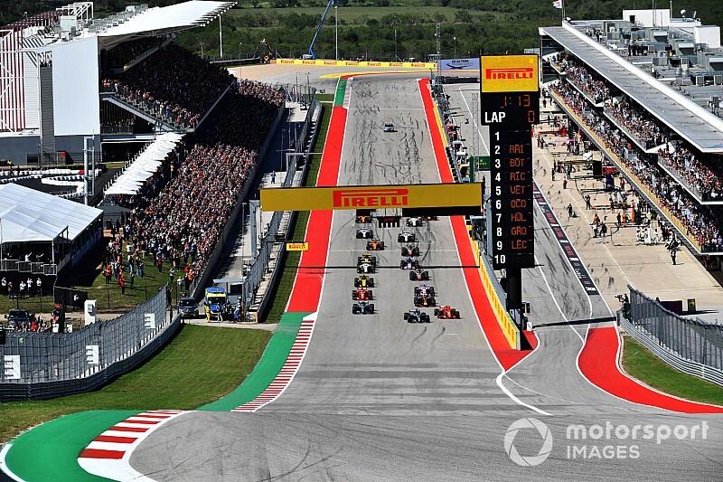 F1 volta a ter corrida ao vivo na TV fechada; confira os horários do GP dos EUA