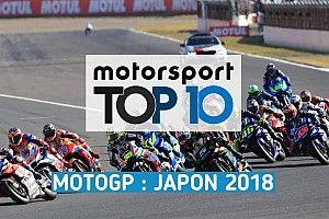 Vidéo - Le top 10 du GP du Japon