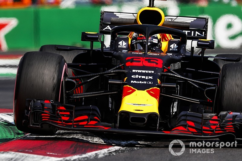 Verstappen ook snelste in derde training Grand Prix van Mexico