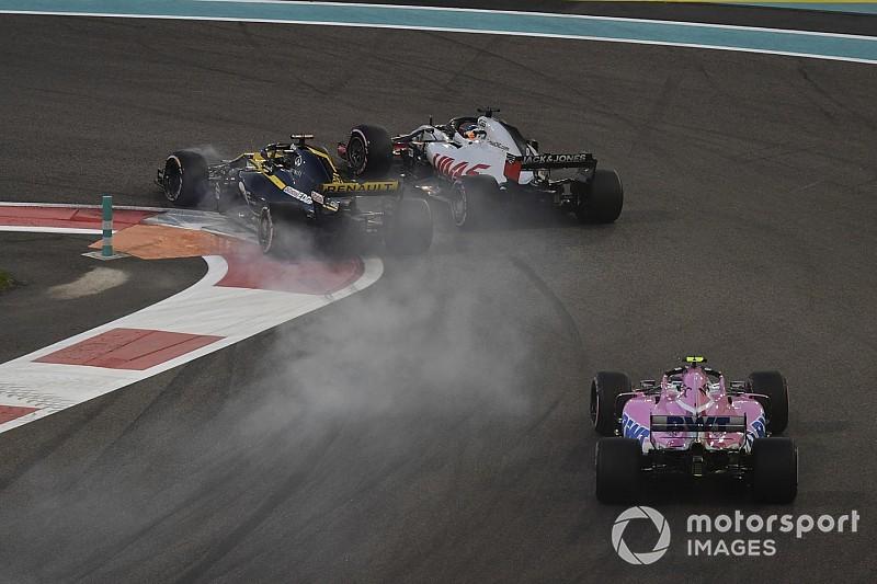 Hulkenberg no pudo ver a Grosjean antes de su espectacular accidente