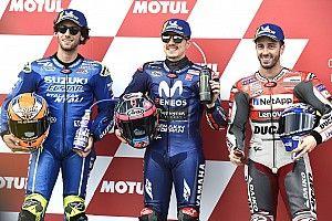 La parrilla de salida del Gran Premio de Valencia de MotoGP