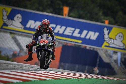 """MotoGP- Quartararo: """"não vou me matar forçando o ritmo na chuva"""""""