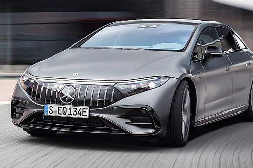 750 lóerő feletti teljesítménnyel jelentkezik a Mercedes-AMG EQS