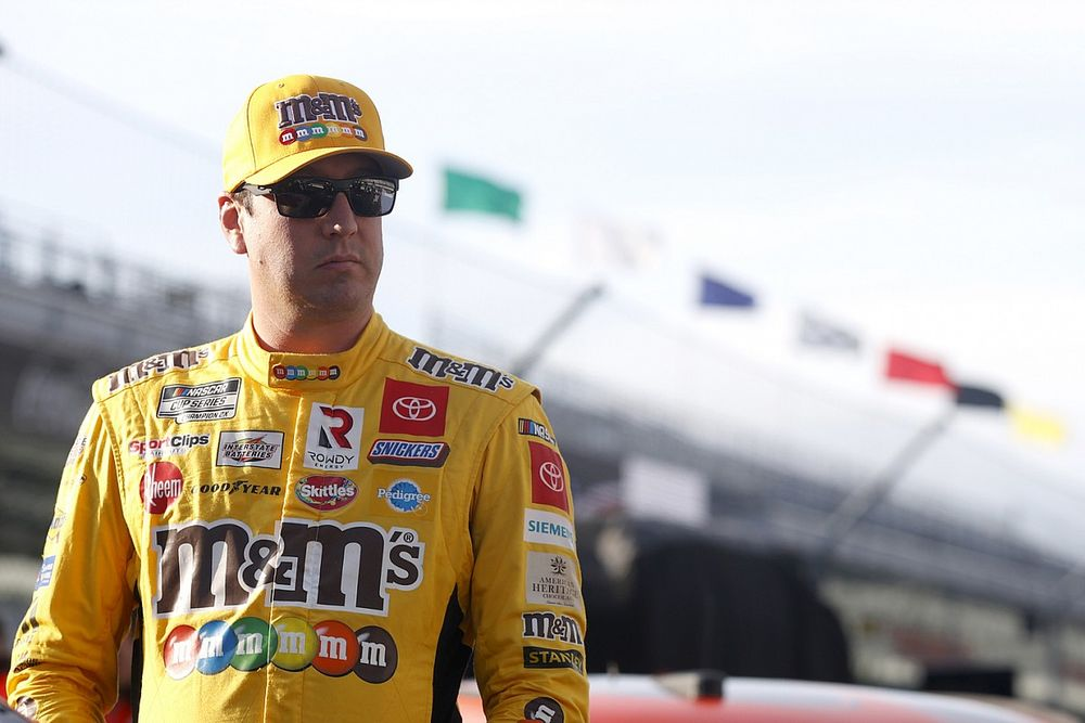 Kyle Busch frustrated after crashing out of playoff opener