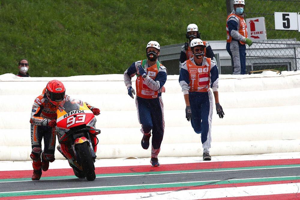 Marc Marquez Versi Sebelum Cedera Bisa Raih Gelar dengan RC213V 2021