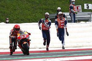 """Márquez: """"El Marc de antes de la lesión podría luchar por el Mundial con esta moto"""""""