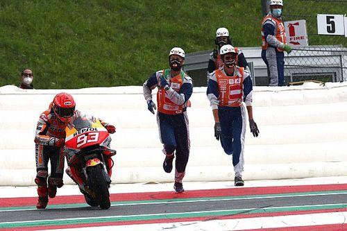 Márquez se infiltró para disputar el GP de Austria