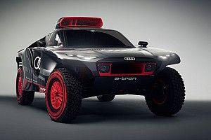 Audi onthult strijdwapen voor Dakar Rally: De RS Q e-tron