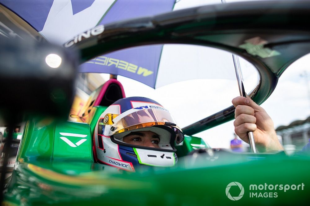 Spa W Series: Chadwick tops practice from Wohlwend