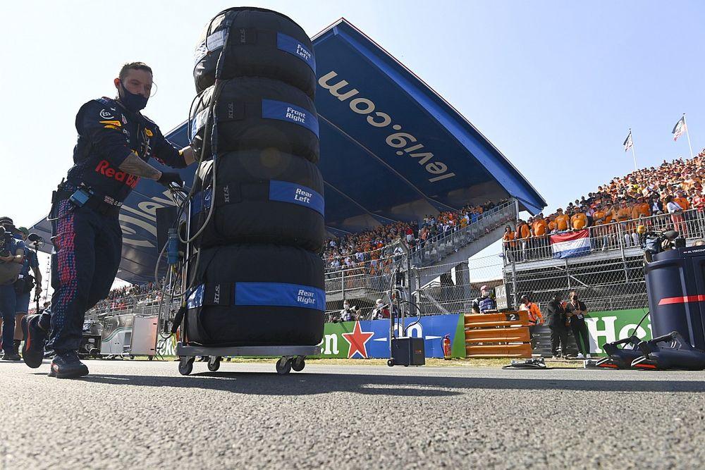 F1 overweegt stappenplan richting verbod op bandenwarmers in 2024