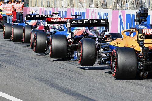 Стартовая решетка спринта Гран При Италии