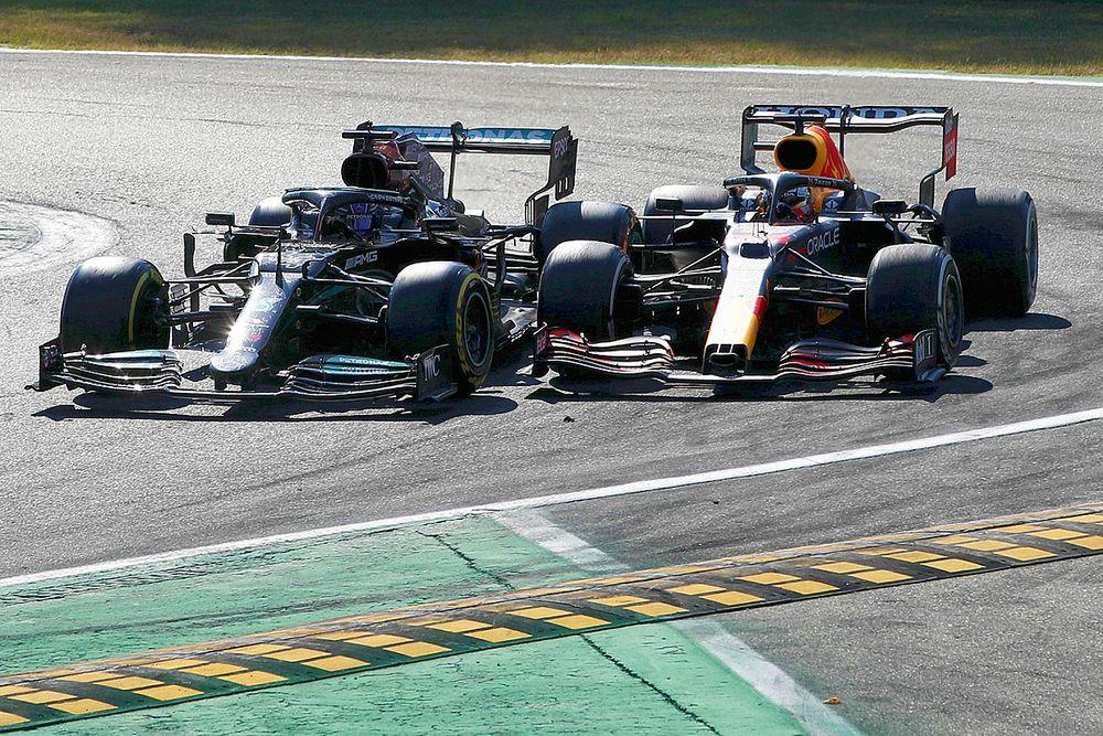 F1: Hamilton diz que deixou espaço e que Verstappen sabia que acidente poderia acontecer