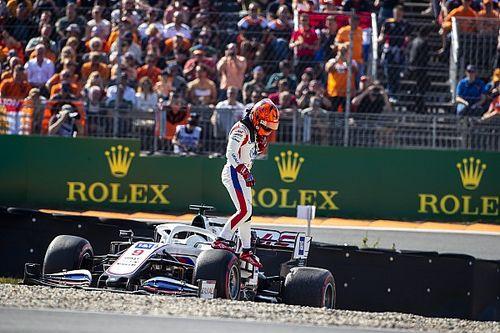 Mazepin estalla contra Mick Schumacher en Zandvoort