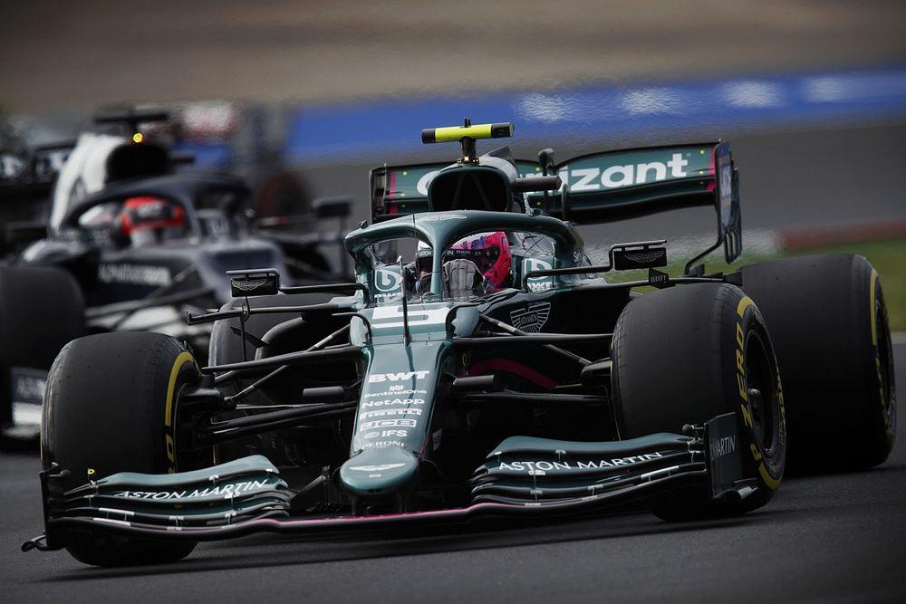 Vettel spiega l'azzardo (sbagliato) delle gomme da asciutto