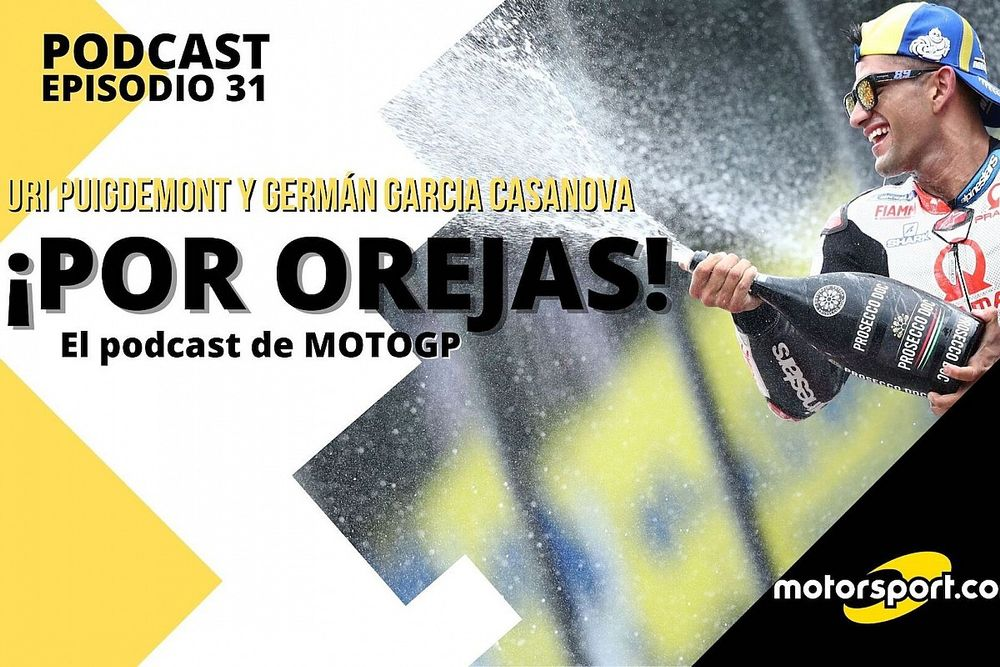 Podcast MotoGP 'Por Orejas' - La irrupción de Martín, al nivel de Pedrosa y Lorenzo