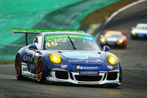 Porsche Cup: Leo Sanchez e Átila Abreu usam dois carros reservas em Interlagos