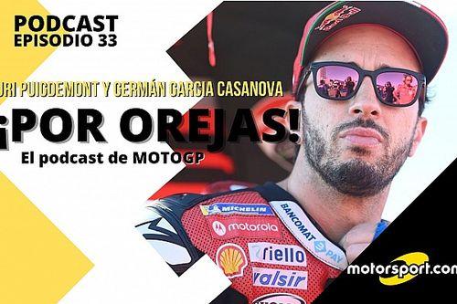 Podcast MotoGP 'Por Orejas' – El difícil encaje de Dovizioso en el puzzle Yamaha