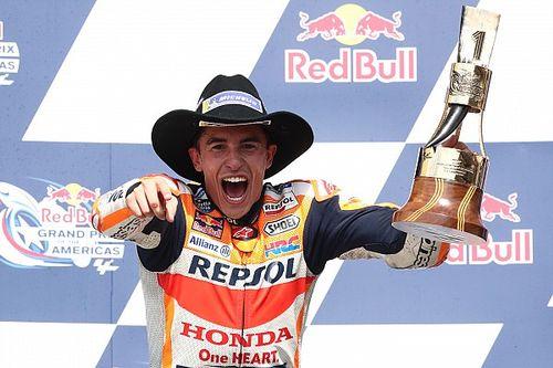 Márquez se impone en el regreso de MotoGP a Austin