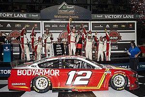 Ryan Blaney survives to win wreck-marred finish at Daytona