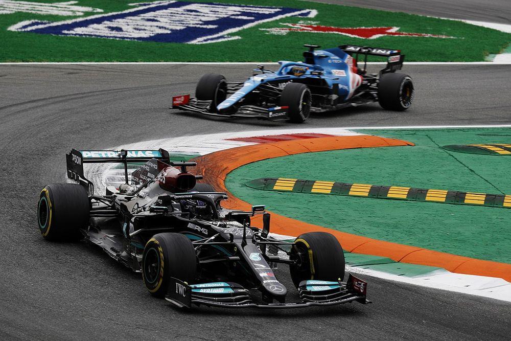 【F1動画】2021年第14戦イタリアGPフリー走行1回目ハイライト