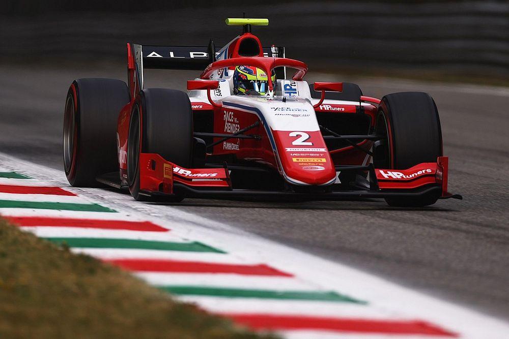F2 Monza: Piastri bate a Zhou y un SC impide un final emocionante
