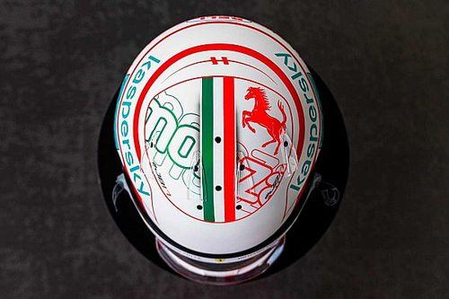 Un casque spécial pour Leclerc et Sainz à Monza