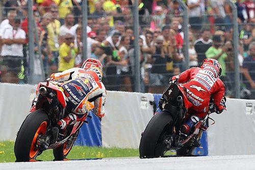 ماركيز تخوّف من التعرّض لحادثٍ في المنعطف الأخير من سباق النمسا