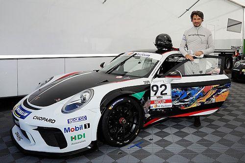"""Carrera Cup Italia: Fadel, l'artista-pilota che arriva dall'""""Experience"""""""