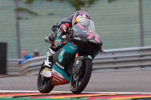 Moto3 FT2 Sachsenring: Japaner Sasaki fährt Freitagsbestzeit